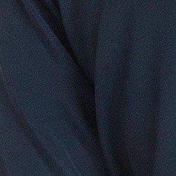 blusa feminina marinho manga flare principessa ester detalhe tecido viscose