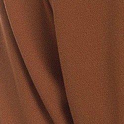camisa feminina ferrugem principessa agustina detalhe tecido crepe