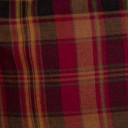 camisa xadrez feminina bordo principessa ines detalhe tecido
