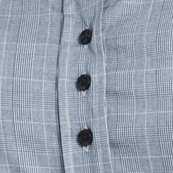 camisa xadrez principe de gales principessa elisabete detalhe triplos