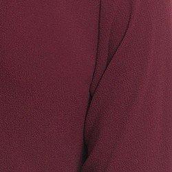 camisa social feminina bordo principessa isabella detalhe tecido fluido