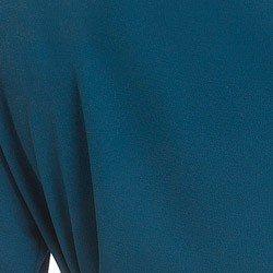 camisa gola de laco petroleo principessa ionita tecido