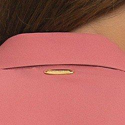 camisa socia feminina com renda principessa ana luiza detalhe placa