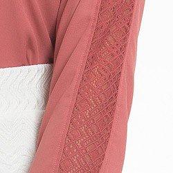 camisa socia feminina com renda principessa ana luiza detalhe renda