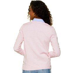 sueter feminino rosa claro principessa filippa detalhe modelagem