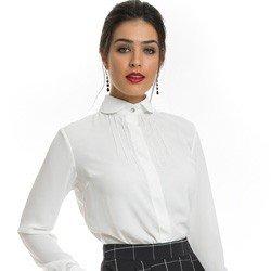 camisa off white principessa irene look