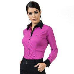 camisa feminina com elastano principessa joelma detalhe look