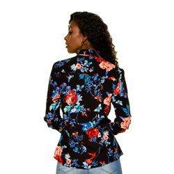 camisa floral principessa celeny modelagem