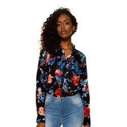camisa floral principessa celeny modernidade