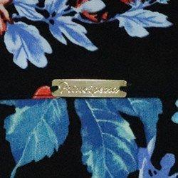 camisa fem floral celeny avio