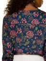 blusa floral azul principessa tassia costas