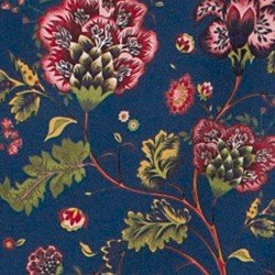 blusa floral azul principessa tassia mini tecido