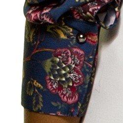 blusa floral azul principessa tassia mini avio