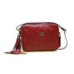 bolsa transversal frida vermelha lado