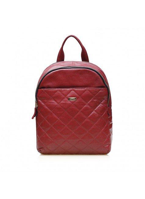 mochila charlotte vermelha frente