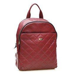 mochila charlotte vermelha lado