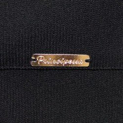 sueter camisa listrada preta principessa violetta mini avio