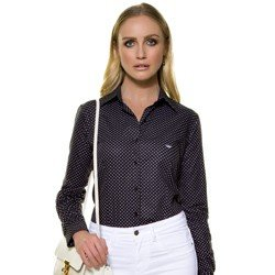 camisa social feminina principessa agda mini desc