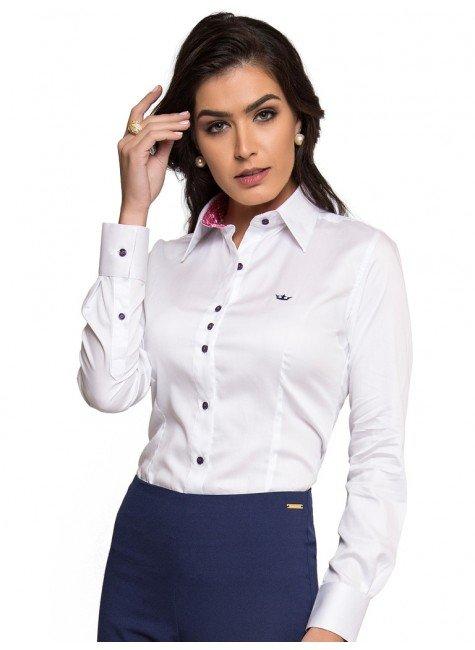camisa social branca feminina principessa nalva look