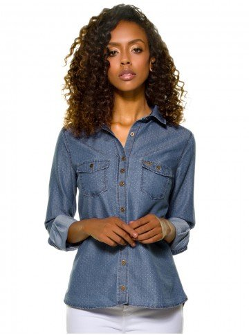 camisa maquinetada manga longa emma 8