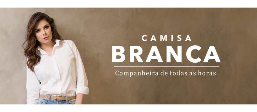 Camisa Branca – Companheira de todas as horas