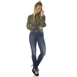 calca feminina skinny estonada frente desc