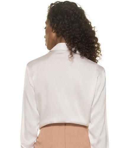 camisa feminina seda adele costas modelagem