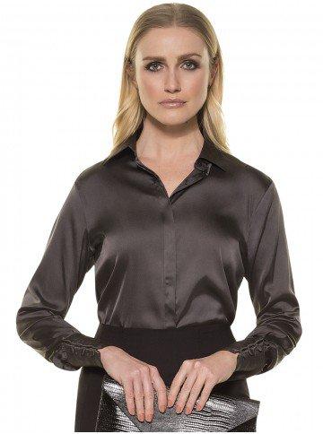 camisa feminina seda beth frente