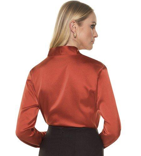 camisa feminina seda anielle costas mod