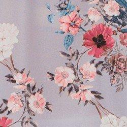 blusa transpassada floral lilas evania frente mini tecido