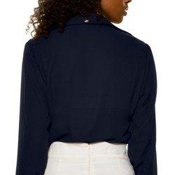 camisa marinh babados principessa juliana costas detalhe