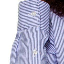 camisa listrada com amarracao principessa joyce frente avios