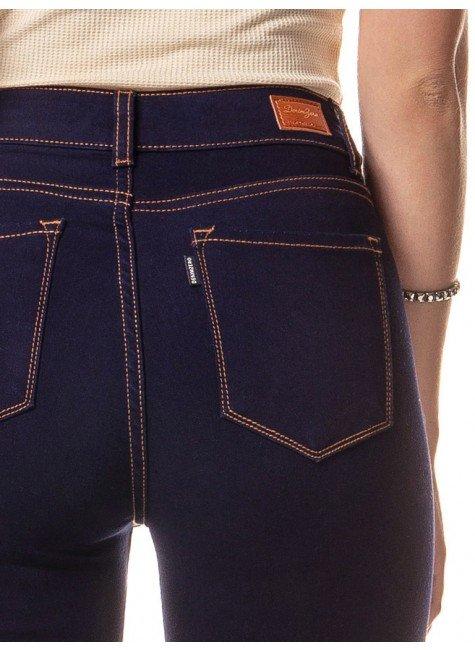 ... calca jeans feminina denim zero dz2558 detalhe costas f03083b5fe609