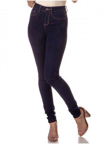 calca jeans feminina denim zero dz2558 frente