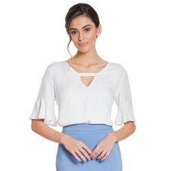 blusa off white manga gode principessa eudora frente descricao