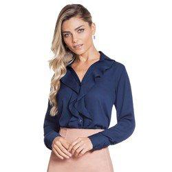 camisa feminina marinho juliana geral