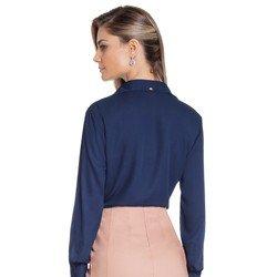 camisa feminina marinho juliana modelagem