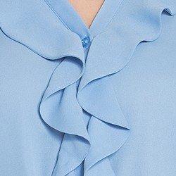 camisa azul babados principessa zoraide babados
