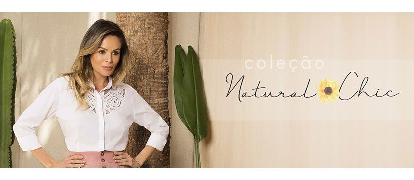 colecao natural chic