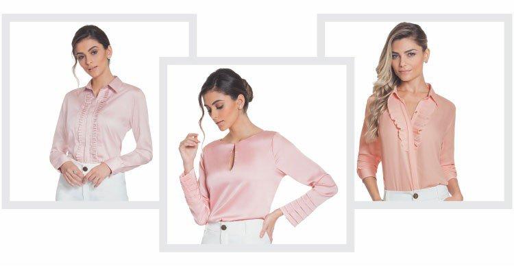 camisas rosa principessa