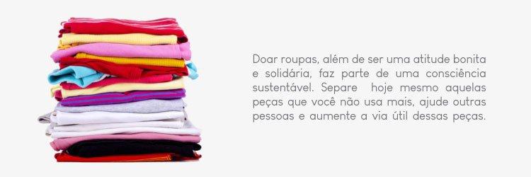 doacao de roupas