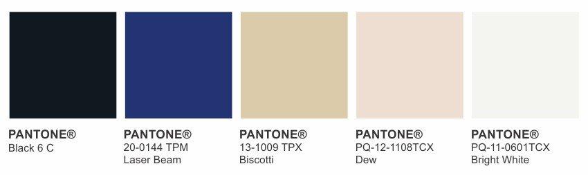 paleta de cores perfect elegance