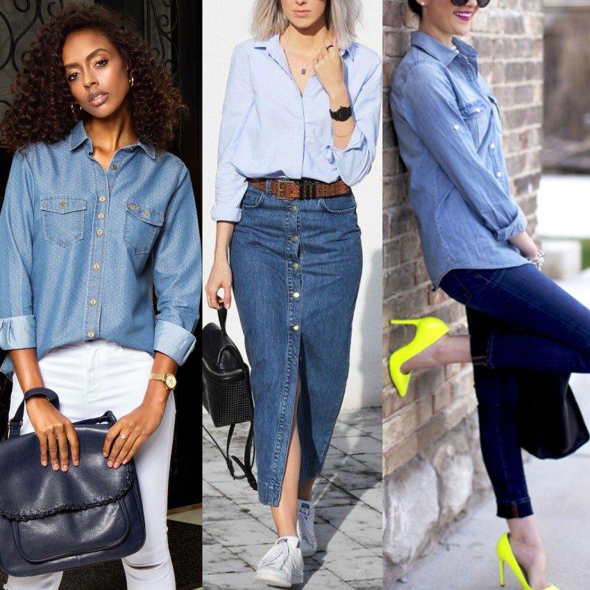 a04e60379 As melhores formas de usar Camisa Feminina - Loja Principessa