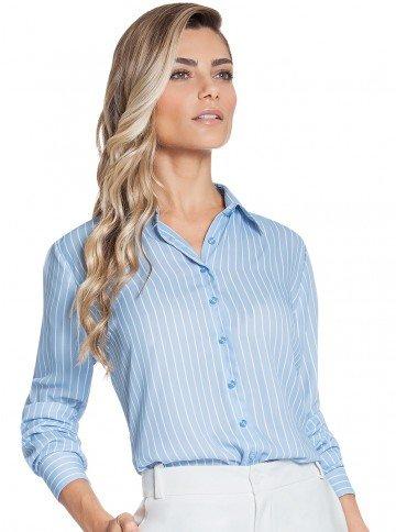 camisa listrada azul principessa silvana frente2
