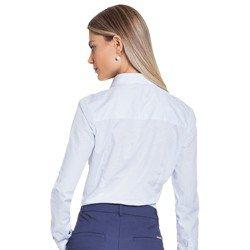 camisa social azul principessa mariah modelagem