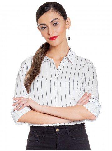 camisa social listrada principessa nazere frente 2