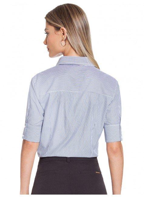 c5faf3af9 ... camisa social listrada principessa lorene costas ...