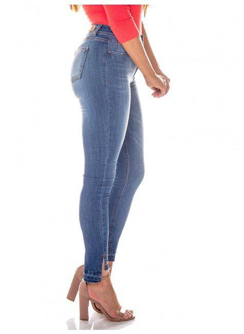 e052a1418c ... calca jeans barra mullet denim zero dz2713 lateral ...