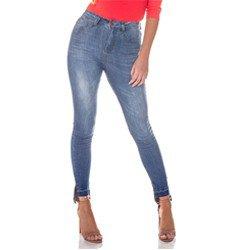calca jeans estonada mullet denim zero dz2713