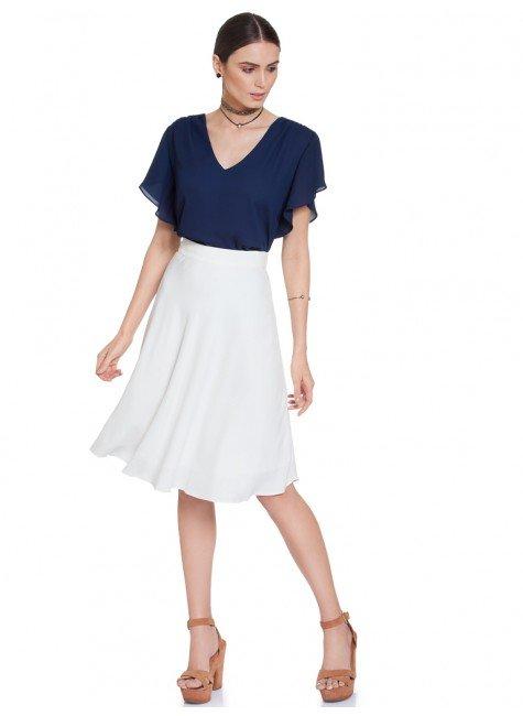 ... blusa feminina marinho principessa mandy frente total ... 6a466ce6b81